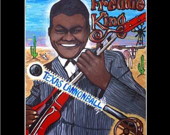 Freddie King 11x14 print