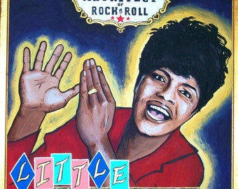 Little Richard 11x14 signed matted print