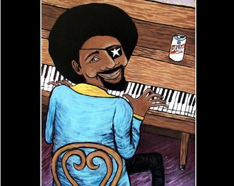 James Booker 11x14 signed Matted Print