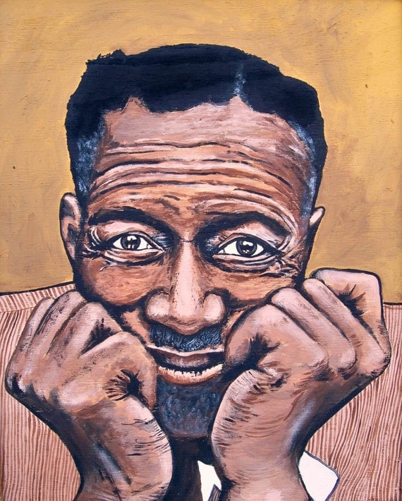 "Son House 11x14"" signed matted print"