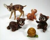 Vintage Woodland Miniatures