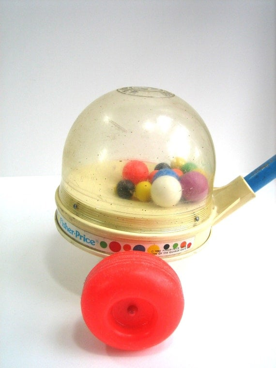 FISHER PRICE Corn Popper 1980