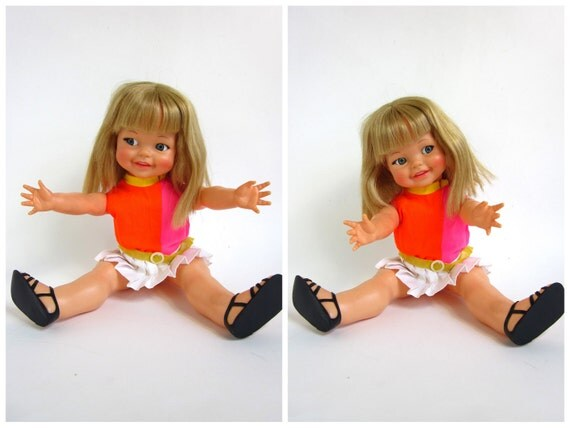 Ideal's Giggles Happiest Doll in the World in Box 1967