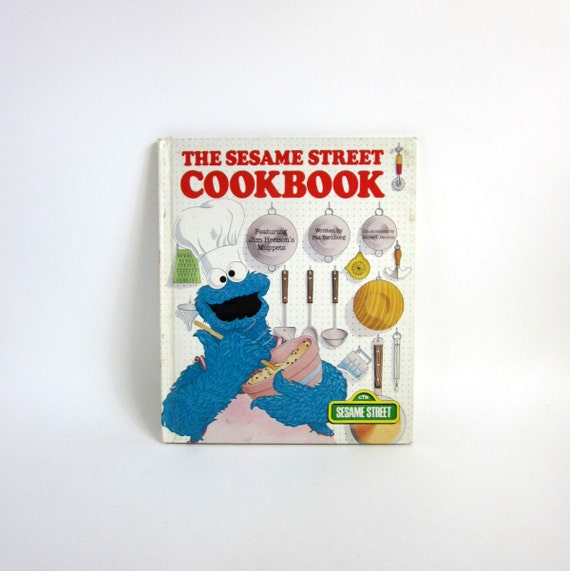 The Sesame Street Cook Book by Pat Tornborg 1978