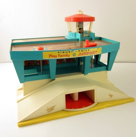 Fisher Price Play Family Airport 1972