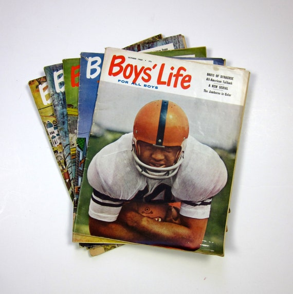 Boys Life Magazine 1960 / Set of 5