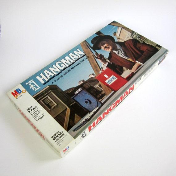 Milton Bradley's HANGMAN 1976 / Complete