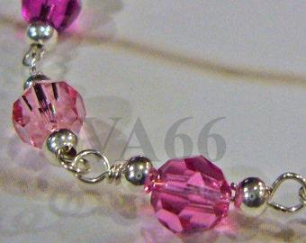 925 silver Baby Bracelet 14K Gold Filled Color Choices Swarovski Crystal Bracelet Flower Girl Birthday Present, Baby Shower, Christening