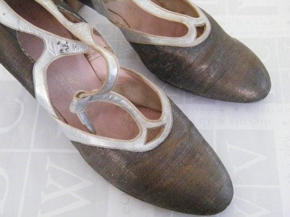 1930 Era Saks Fifth Avenue Ladies Dress Shoes