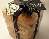 Wine Cork Coaster Set by The Polished Wolf