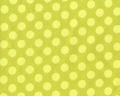 Ta Dot Polka Dots Fabric Apple Green by Michael Miller