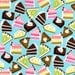 Michael Miller Delectable Cake Pie Fabric