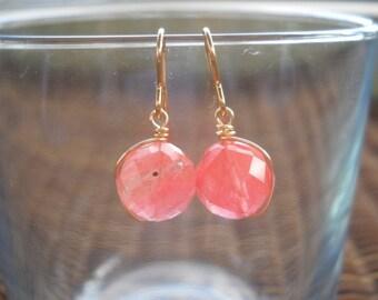 Golden Berry Earrings