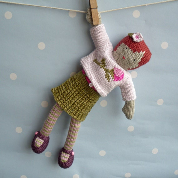 Verity - Hand Knitted Doll