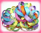 FREE SHIPPING The Good Shepard Easter Spring Boutique Loopy Flower Hair Bows Girls Toddlers