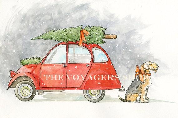 The Christmas Tree 8.5 x 11 holiday print