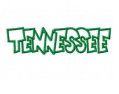 Tennessee Embroidery Machine Applique Design 2305