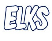 Elks Embroidery Machine Applique Design 2314