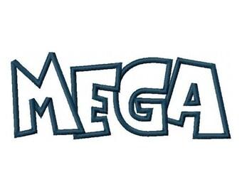 Mega Embroidery Machine Applique Design Design 2273