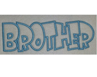 Brother Embroidery Machine Applique Design 2276