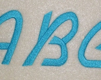 Embroidery Machine Alphabet Font Set 166
