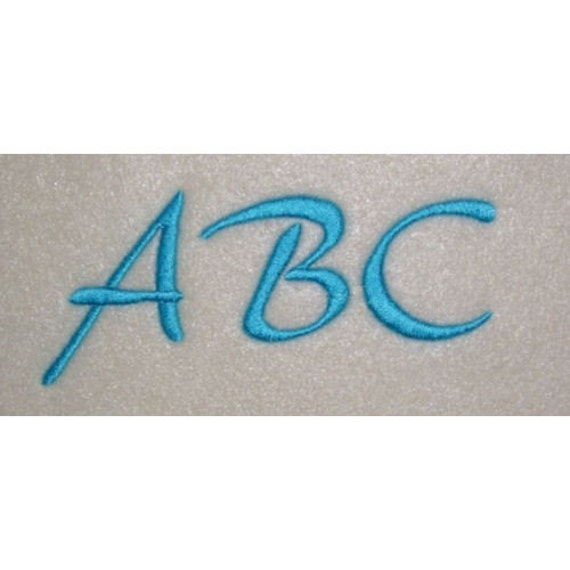 Embroidery Machine Alphabet Monogram Font Designs Set 165