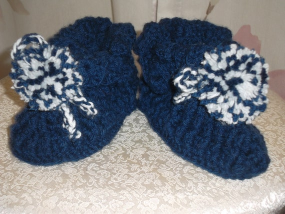 Blue Toddler slippers/Ready to ship