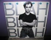 Vinyl Record Iggy Pop - Blah Blah Blah LP 1986 Rock-n-Roll David Bowie