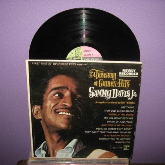 Vinyl Record Album Sammy Davis Jr. - A Treasury of Golden Hits LP 1963 Pop Vocal Classics Rat Pack