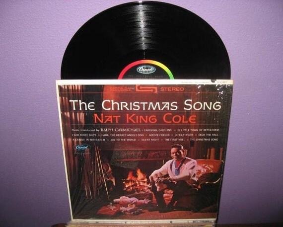Vinyl Record Album The Christmas Song Nat King Cole LP 1967