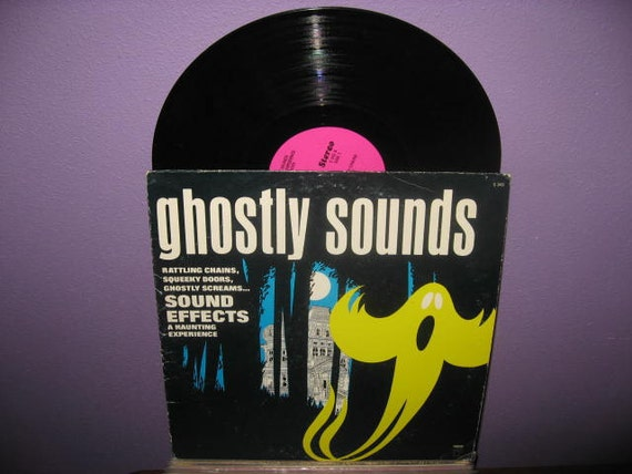Rare Vinyl Record Ghostly Sounds Lp 1970s By Justcoolrecords