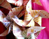Big Top Vintage Circus Birthday Pinwheel Set by Rule42
