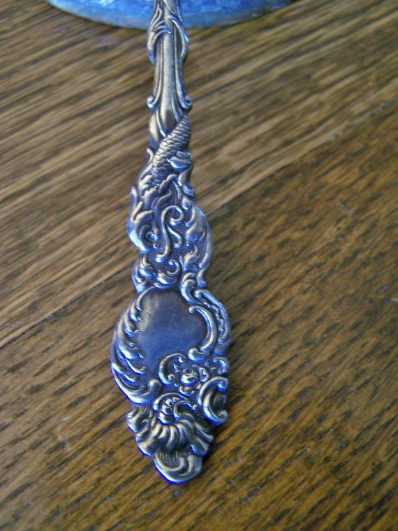Antique 1847 Rogers Bros. A1 Cake Serving Fork Columbia pattern