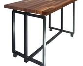 Desk Manhattan Walnut (Varnique Finish) - L 48 / W 25 - Consciously Eco - Unapologetically Modern