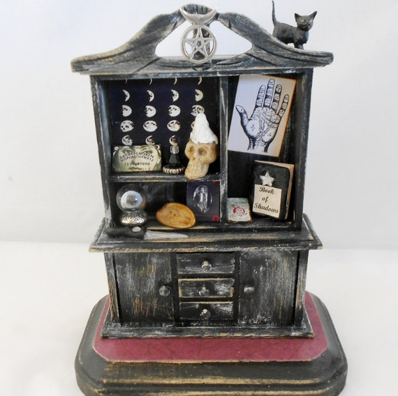 Miniature Gypsy Witch's Cabinet