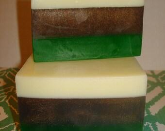 Bamboo & Grass Glycerin Soap Loaf