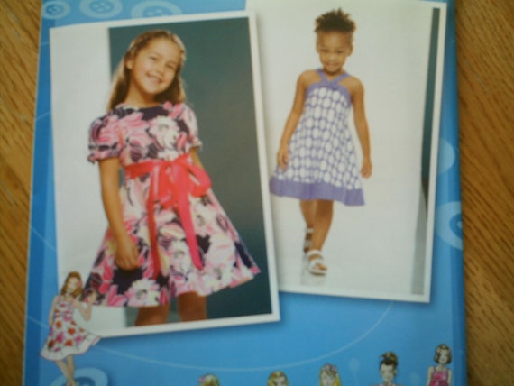 Simplicity 2989 Toddler and Childs Dress Sizes 4-8 New