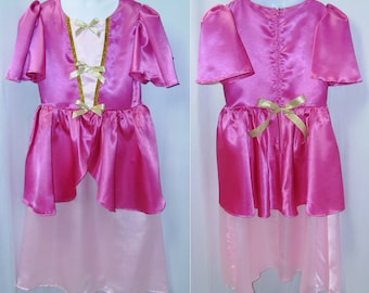 Girl's Princess Dressup Dress Up Costume Cosplay Rennaisance Size 4 5 6 7 8 9 10 Your choice of color