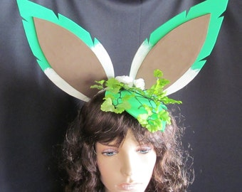 Pokemon Leafeon Ears Cosplay Costume Accessories