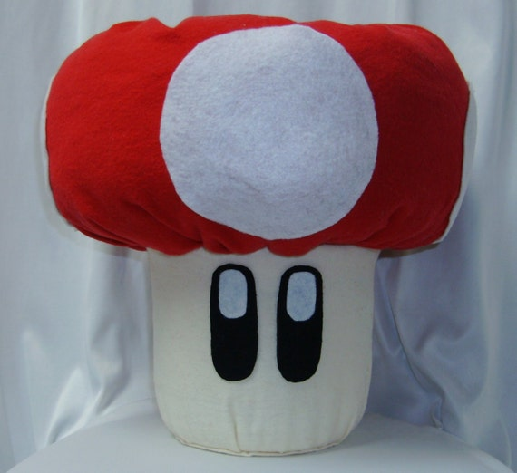Super Mario Brothers or Luigi Mushroom for Costume Cosplay or Convention bag