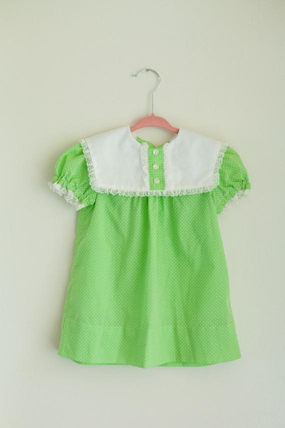 Polka Dot Toddler Dress