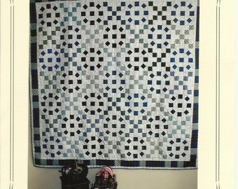 Quilt Pattern - Fields of Blue and Gray