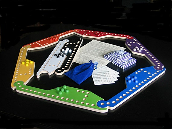 New Marbles And Jokers 8 Pc Game With Interlocking Paddles