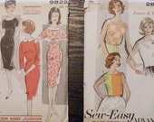Lot Number Five - Four Junior Patterns, Sizes 14- 16, Bust 34, Waist 28, All uncut and in factory folds
