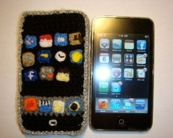 iPhone/iPod Touch Crochet Toy Pattern PDF