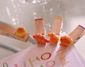 Mini memo clips for bread lovers