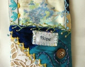 Pocket Comfort Mini Quilt - ACEO - Gift Card Holder