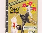 Handmade Greeting Card - Happy Birthday