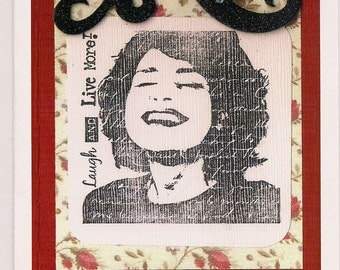 Handmade Greeting Card - Today