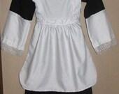 Girls Pilgrim Dress Up Outfit
